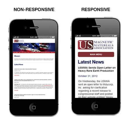 Responsive Vs Non Responsive Web Design