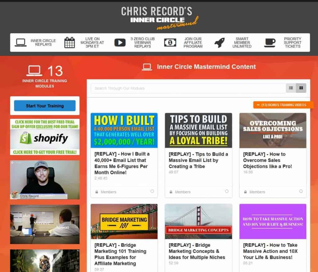 Smart Member 2.0 Website Example