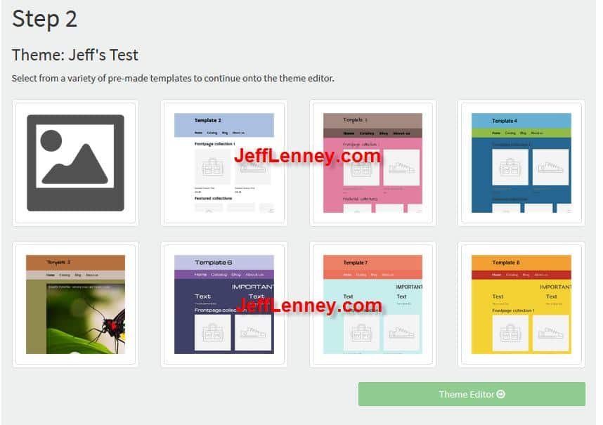 eCom Pages Templates