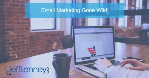 email marketing gone wild