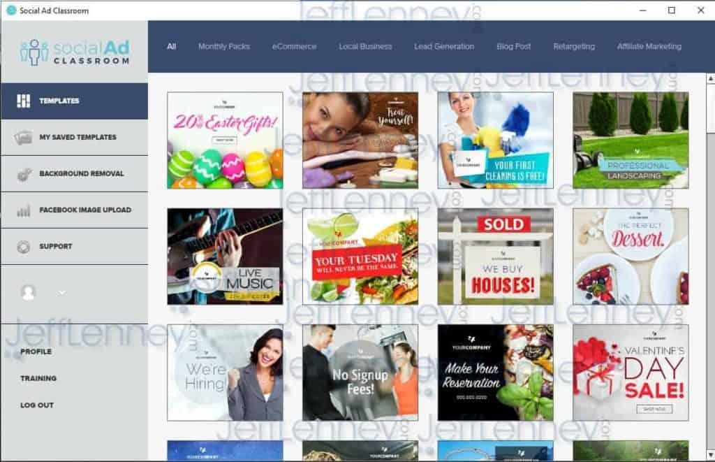Social Ad Classroom Software