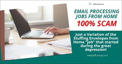 legit email processing jobs