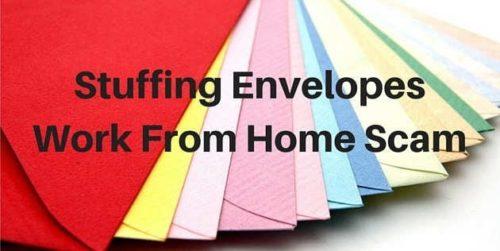 stuffing envelopes free start up kit