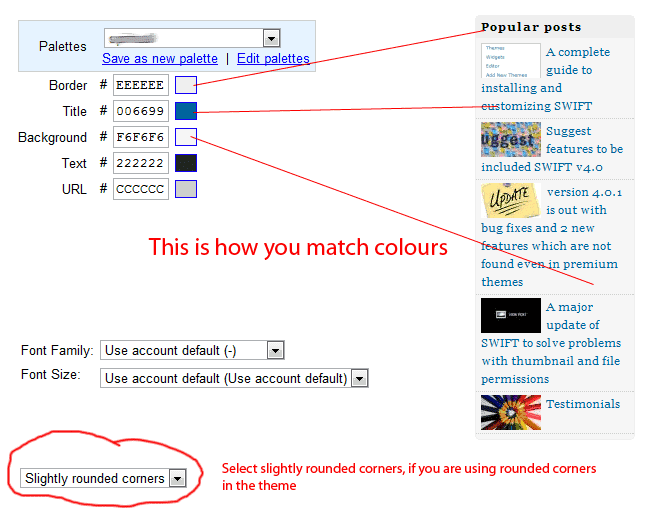 Matching your Ads to your Websites Colors