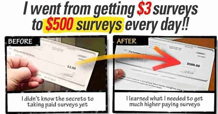 "Beware the ""Take Surveys for Cash"" Scam"