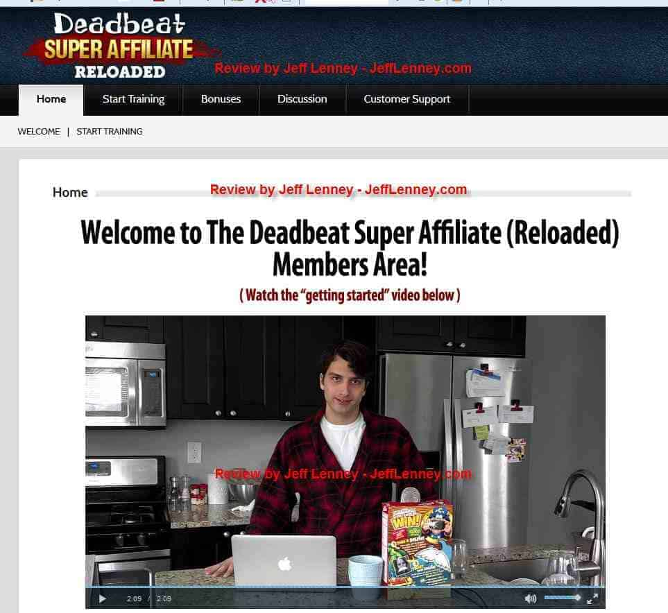 Deadbeat Super Affiliate Review