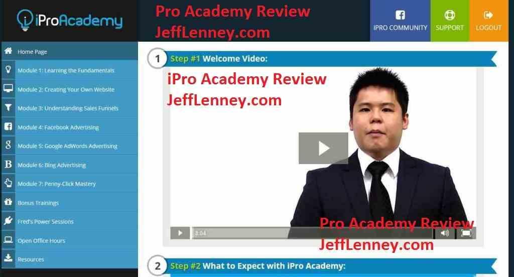 iPro Academy 2.0 Review & Bonus