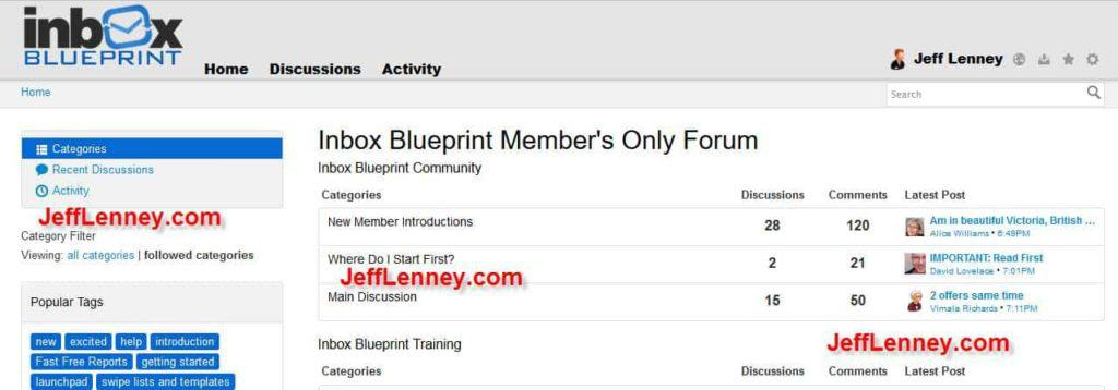 Inbox Blueprint 2.0 Members Forum