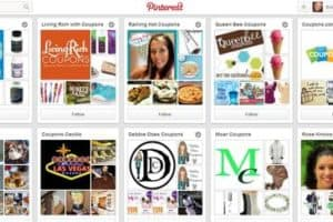 Coupons on Pinterest