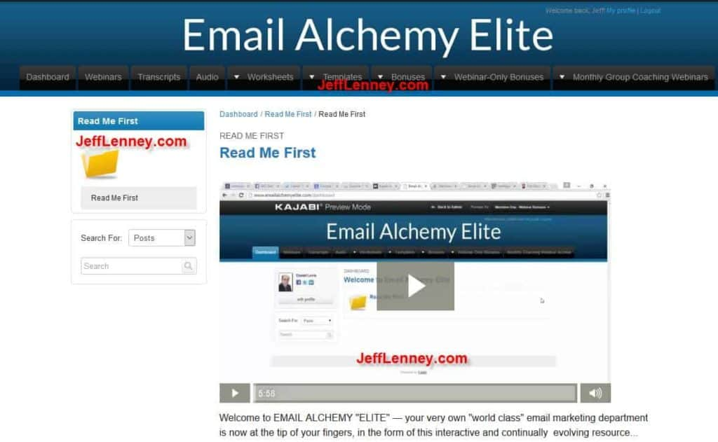 Email Alchemy Elite 2.0 Review - 2016