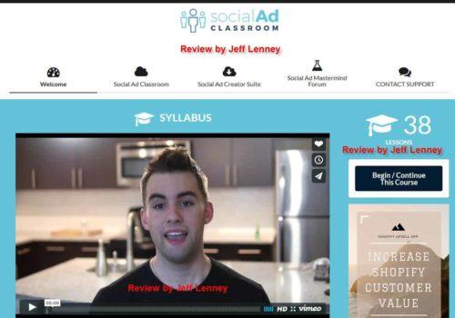 social ad classroom members area