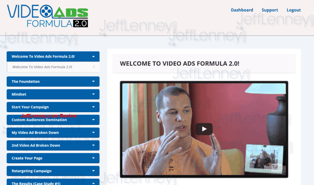 Video Ads Formula 2.0 Members Area