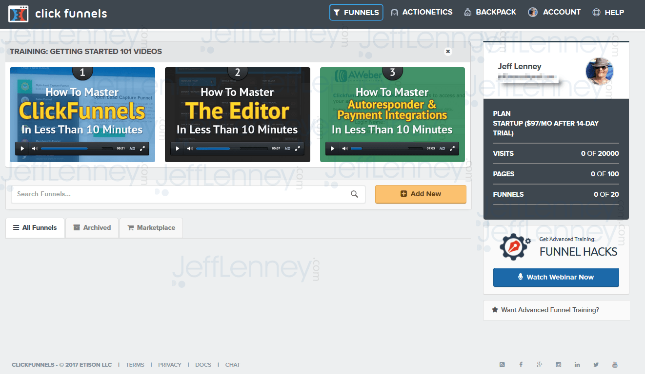 How To Make A Colum Wider In Clickfunnels