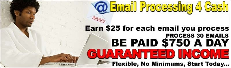 Home based email processing jobs without investment les analystes sell side investment