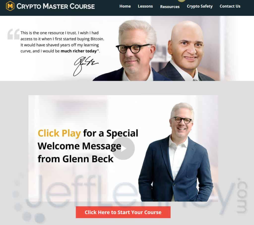 Crypto Master Course Glenn Beck