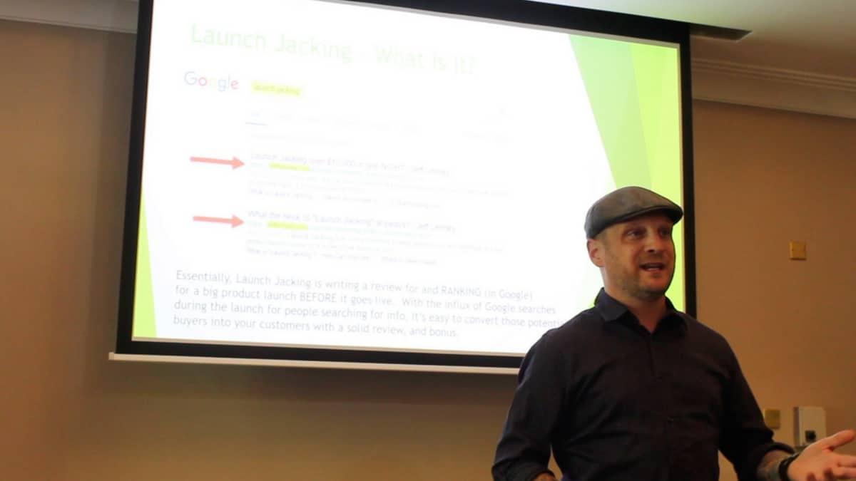 Jeff Lenney, Speaking in Dublin Ireland