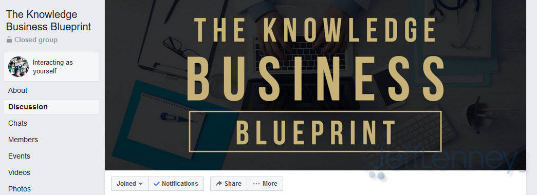 Knowledge Broker Blueprint FB Group