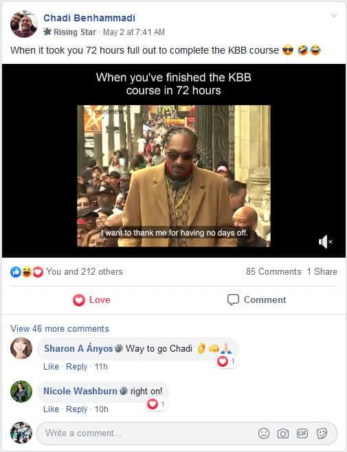 KBB FB Testimonial
