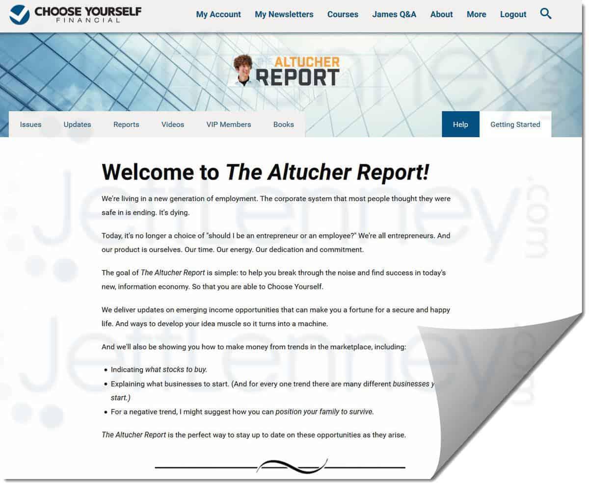 The Altucher Report Reviews