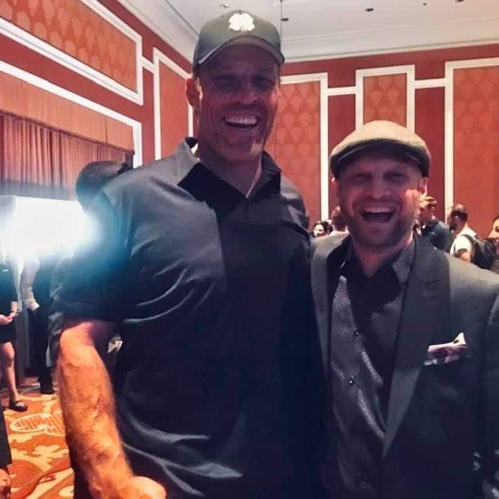 Tony Robbins and Jeff Lenney