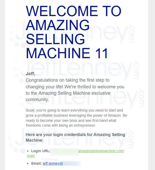 Amazing Selling Machine 11 Members Area