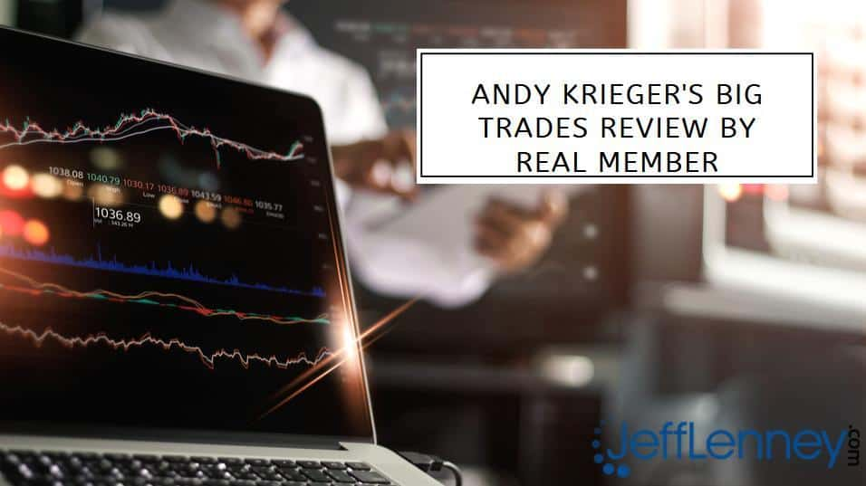 Andy Krieger's Big Trades Review