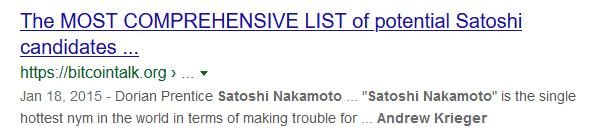 "is andy krieger ""Satoshi Nakamoto"""
