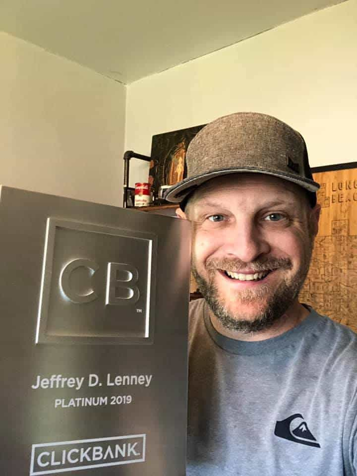 Jeff Lenney, Clickbanki Platinum gives his Commission Hero review