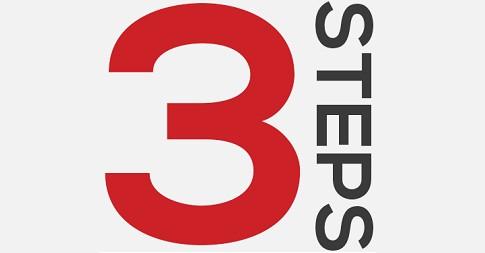 3-step-process