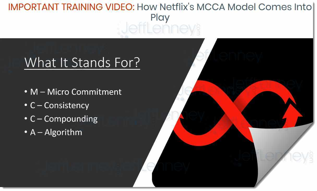 Netflix MCCA, as shown in Perpetual Income 365