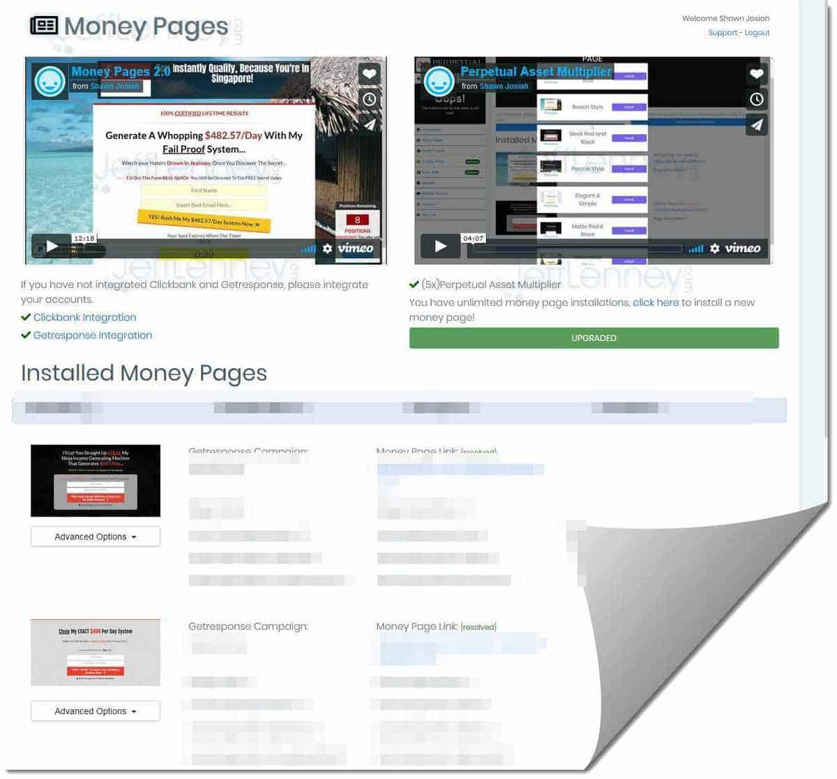 P.I. Money Pages!