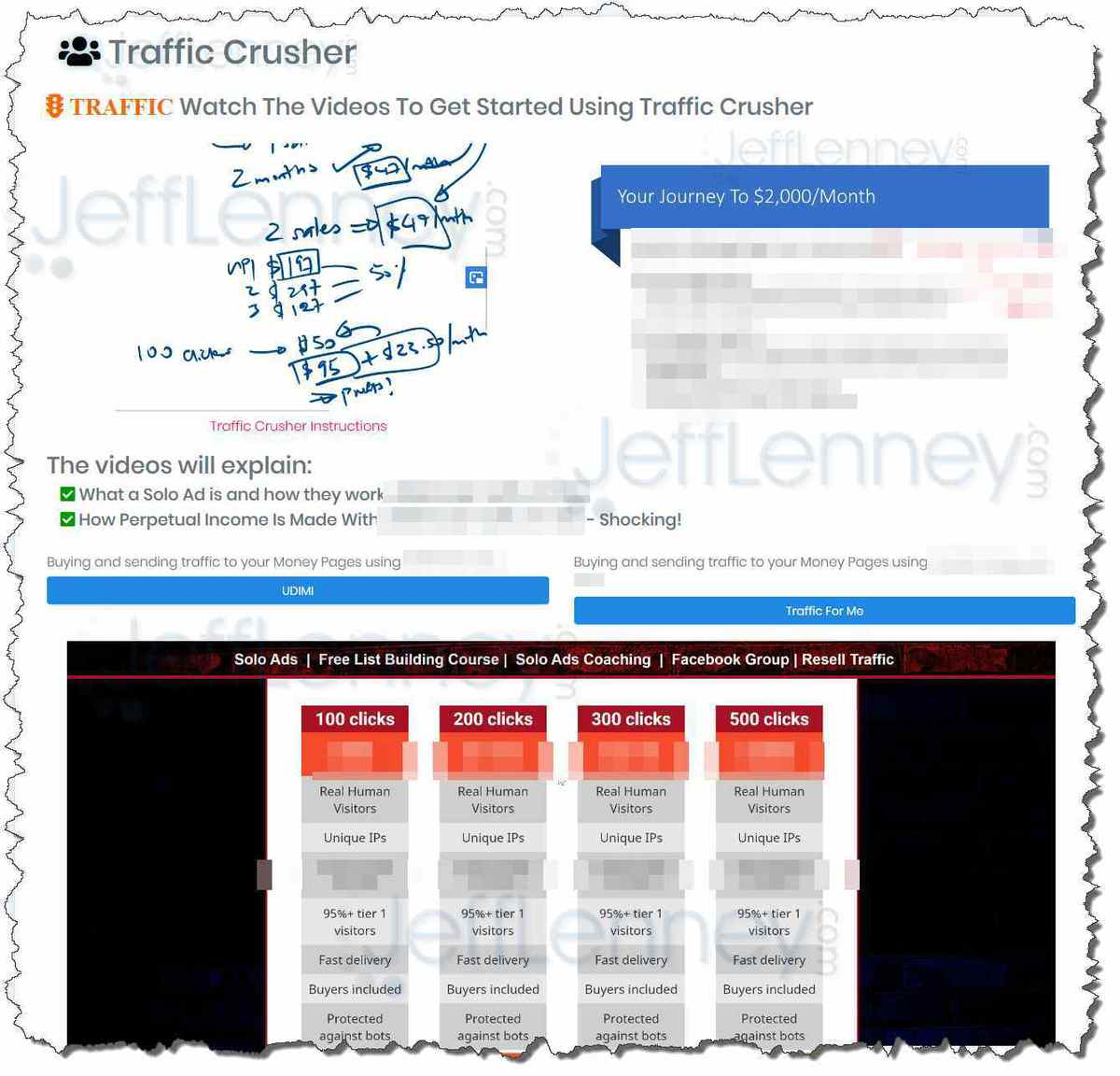 Perpetual Income 365 Traffic Crusher Video Training