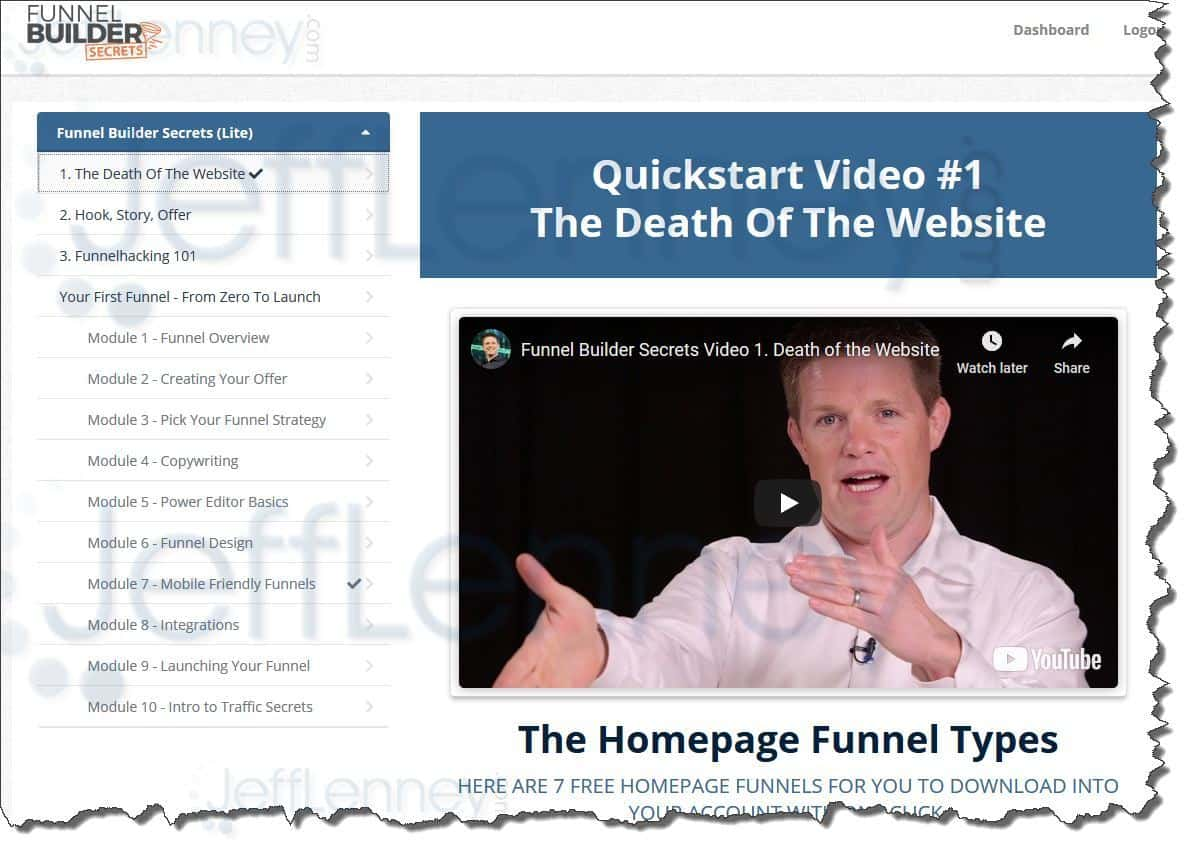 Clickfunnels Funnel Builder Secrets (Lite)