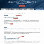 Jim Rickards' Strategic Intelligence Review