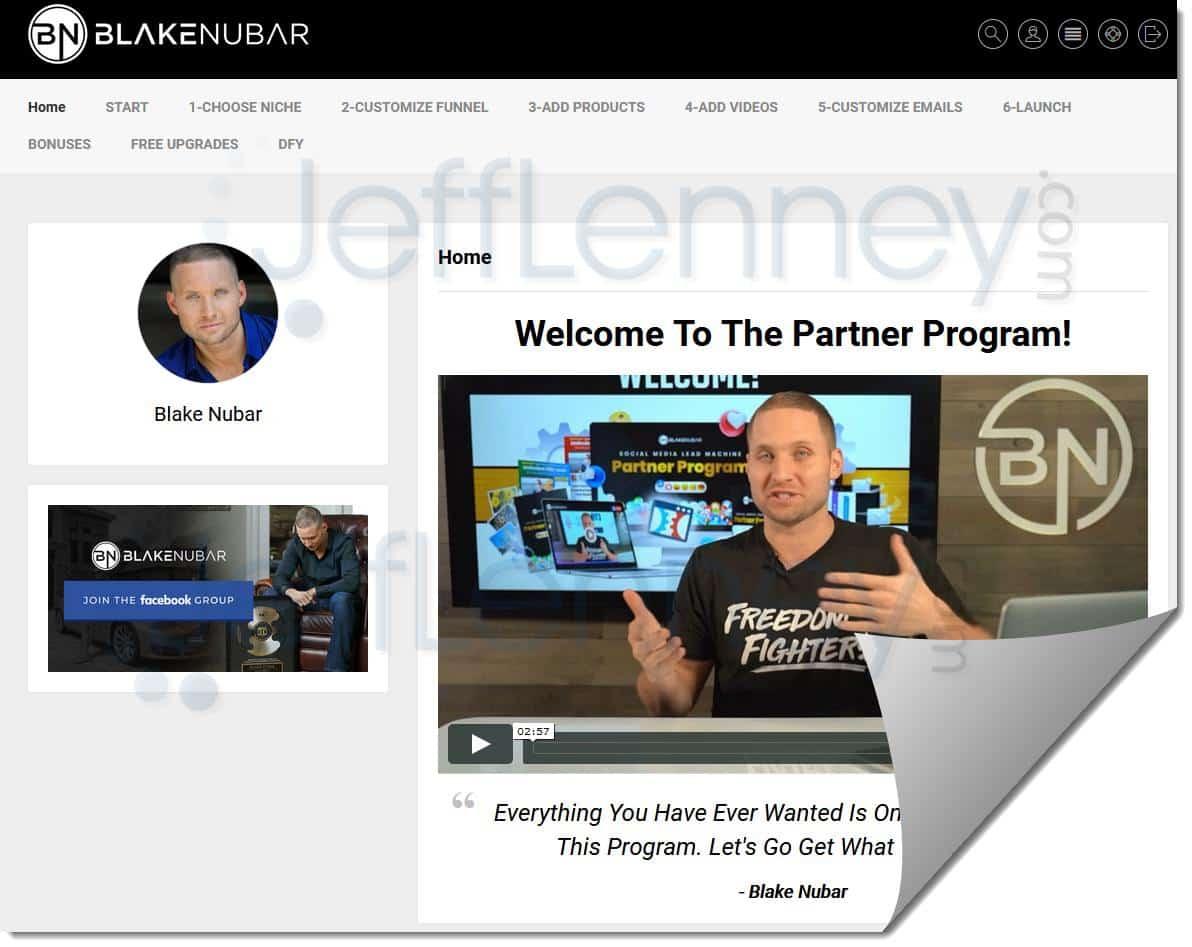 Blakes Partner Program Members Area