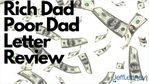Rich Dad Poor Dad Letter Review