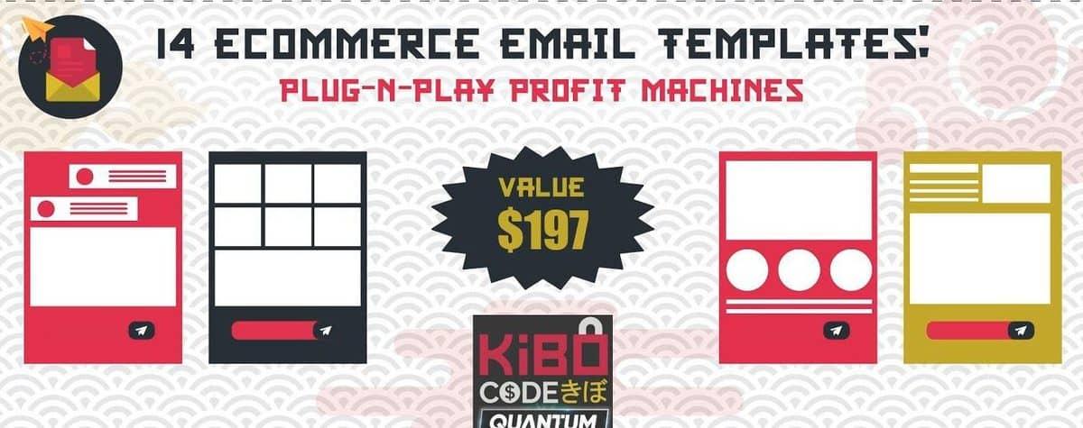 KQ-Bonus - 14 eCom Email Templates