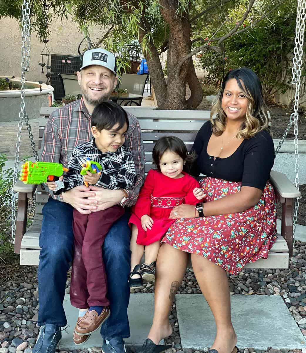 Jeff & Family, 2021